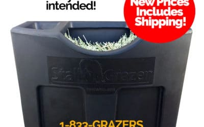Stall Grazer Horse Feeder new Prices!