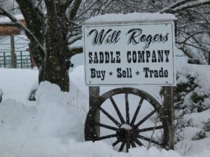 Will Rogers Saddle Company